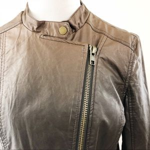 Kut from the Kloth Jackets & Coats - KUT from the kloth Brown Zip Up Jacket